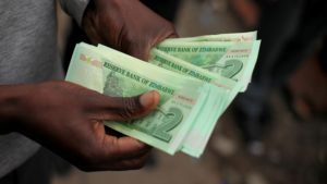 The new Zimbabwe bond notes are driving the more valuable U.S. currency into hiding.