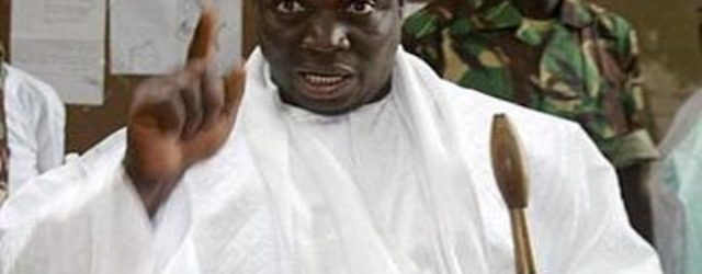 Yahya Jammeh bows out in face of ECOWAS' unity and strength
