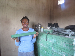 Rudo Mazhandu grew a successful soap making business following training through Zimbabwe:Works